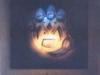 hand logo lamp
